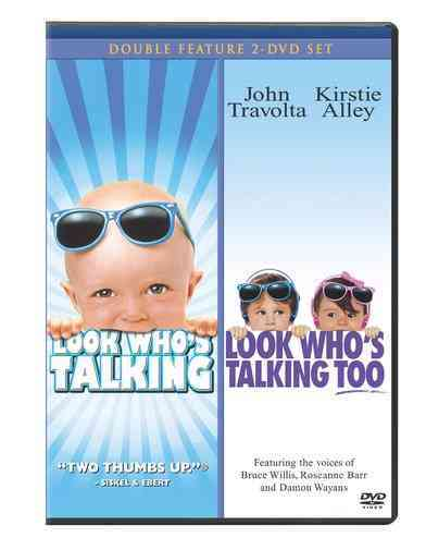LOOK WHO'S TALKING/LOOKS WHO'S TALKIN BY TRAVOLTA,JOHN (DVD)